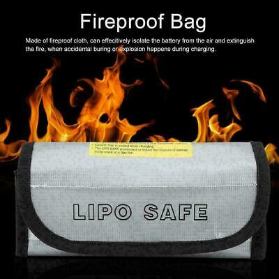RC Lipo Charging Safe Bag Battery Guard Sack Fireproof Explosion Proof Storage • 5.01£