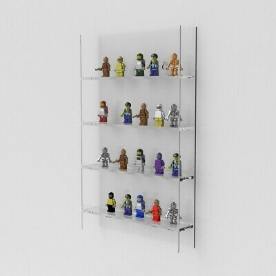 Wall Mounted Mini Figure Display Case / Mini Figures Stand / Holder • 24.99£