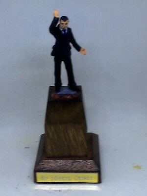 54mm Figurine Of Sir Edward Carson Unionist Leader On Solid Mahogany Base • 41£