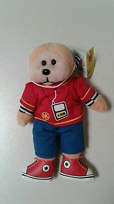 NEW Beats The MP3 Bear - Beanie Kid Collectable • 8.31£