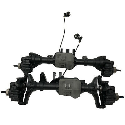 Traxxas TRX-4 TRX4 Front & Rear Axles With Diff Lockers Portals & Hexs Brand New • 159.99£