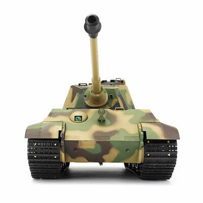 NEW V6 RC TANK HENGLONG King Tiger 2.4G Radio Remote Control RC Military Army BB • 169.99£