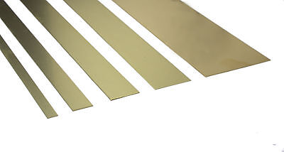 K&S Brass Strips - Widths 1/4  - 2  Various Thickness 12  Long Precision Metals • 6.49£