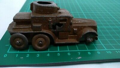 VINTAGE OLD CHARBENS Army Military ARMOURED CAR OLD TOY RARE Collectible Truck • 32.99£