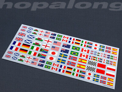 Scalextric/Slot Car Waterslide Decals (with White Print). Ws033w • 3.55£