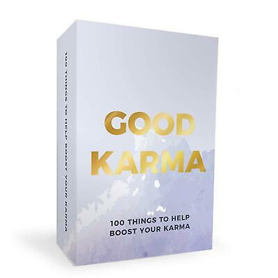 100 Good Karma Cards Positive Thinking Acts Of Kindness • 6.60£