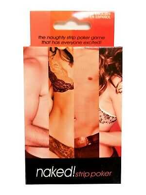 NAKED! STRIP POKER CARD GAME Adult FUN PARTY Playing Cards GIFT Sex Aid RUDE • 6.99£