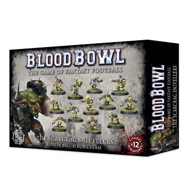 The Scarcrag Snivellers - Goblin Blood Bowl Team • 21£