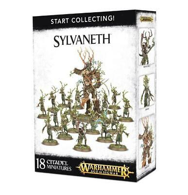 Start Collecting! - Sylvaneth Warhammer Age Of Sigmar Wood Elf Army Starter • 45£