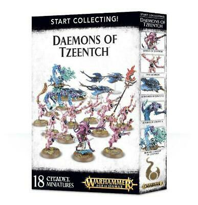 Start Collecting - Daemons Of Tzeentch • 45£