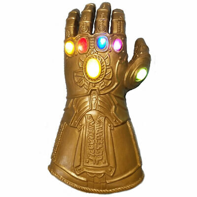 Thanos Infinity Gauntlet Glove For Kids  LED Light Glove 4 Movie Toy • 14.95£