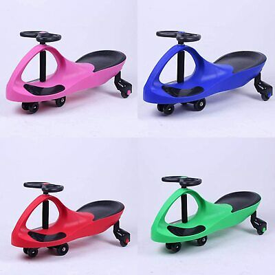 Vencier SWING WIGGLE GYRO PLASMA CAR RIDE ON TWIST GO KIDS FUN • 21.99£