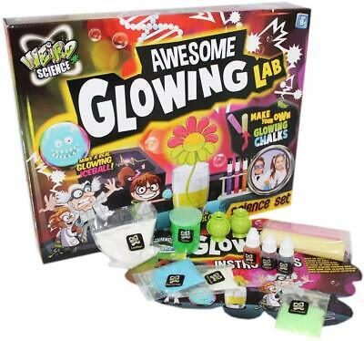 Weird Science Awesome Glowing Laboratory Chemistry 440088 Experiment Set Kit Toy • 8.88£