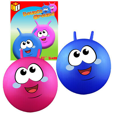 18  Retro Space Hopper Jump Bounce Around Ball Toy  NEW • 7.99£