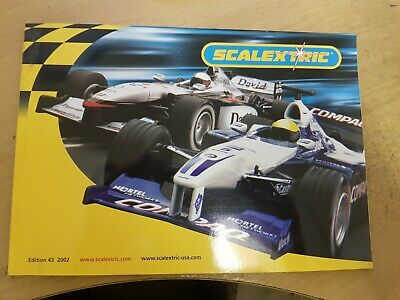 Scalextric Catalogue 2002 43rd Edition BRAND NEW • 6.99£