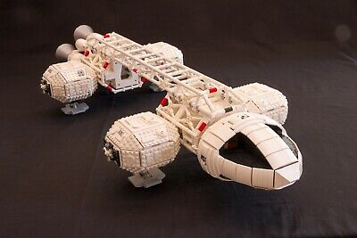 🏁HUGE Lego Space 1999 Eagle Transporter Instructions MOC; Full Minifigure Scale • 12£