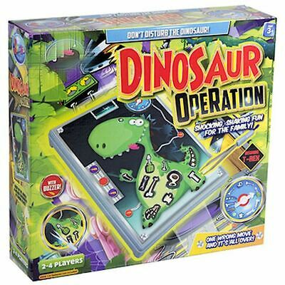 Dinosaur Operation Game Kids Family Fun Skills Classic Board Game Play Set Gift • 8.29£
