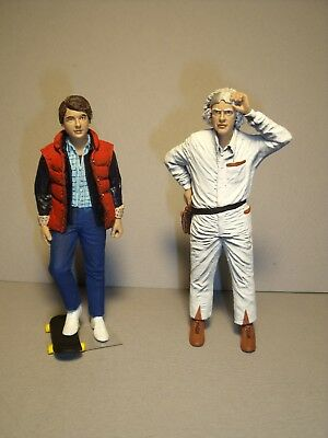 Back To The Future  1/18  Unpainted  Figures  Made  By  Vroom  For  Sun Star • 55£