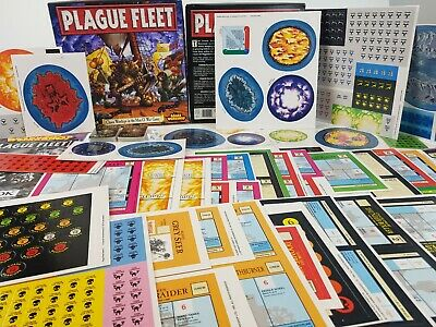 Man O' War Board Game Plague Fleet Expansion NEW Unpunched [ENG, 1993] • 139.95£