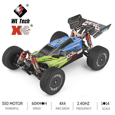 Wltoys XKS 144001 60km/H High Speed 1/14 2.4GHz RC Buggy 4WD Drift Car RTR • 63.69£