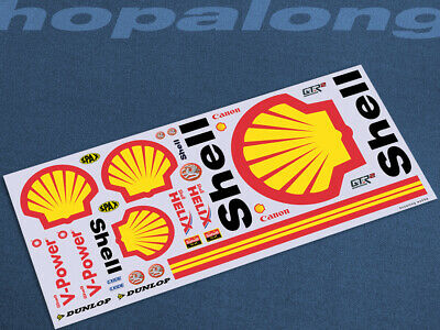 Scalextric/Slot Car 1/32 Waterslide Decals. Ws039w • 3.55£