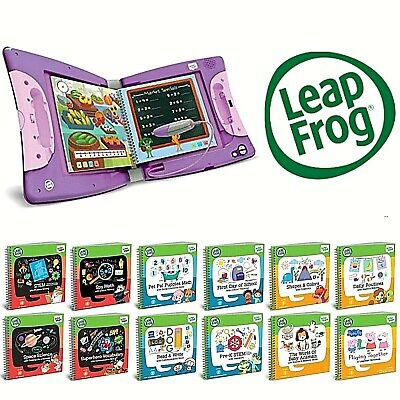 Leapfrog LeapStart Books Educational Replayable Various Activities Choose Yours • 12.99£