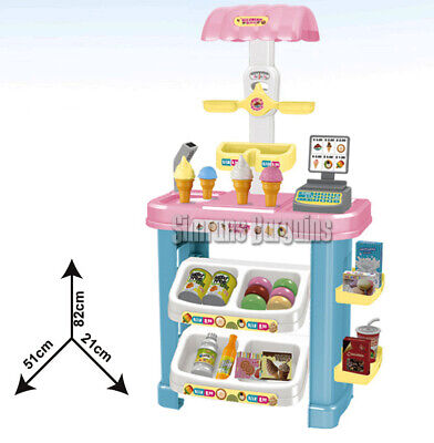 Ice Cream Store Super Market Pretend Role Play Toy Shop XMAS GIFT NEW • 24.99£