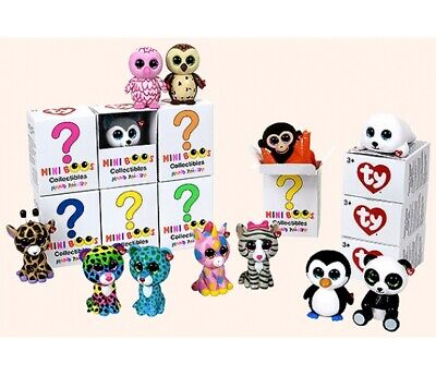 Ty Mini Boos Series Collectable Figure Toy Random Box ( 1 X Supplied ) • 4.90£