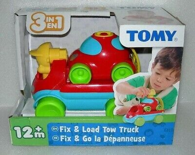 Tomy Fix & Load Tow Truck With Car - NIP • 9.99£
