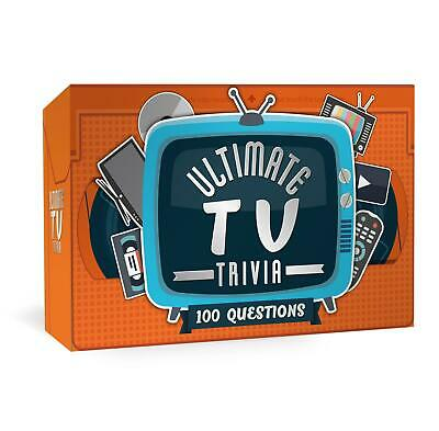 Ultimate TV Trivia Card Game Party Game Question Quiz Night Novelty Gift • 6.60£