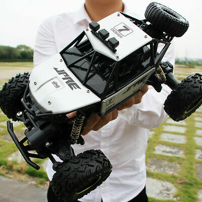 KidsToy 4WD RC Car Monster Truck Off-Road Vehicle 2.4G Remote Control Buggy Gift • 34.29£