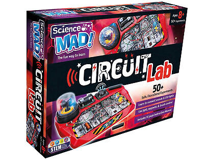 Science Mad Circuit Lab Activity Set • 28.99£