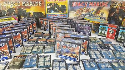 Warhammer 40k 40,000 Epic Multilisting - NEW BOXES, Blisters RARE [1992-1998] • 59.95£