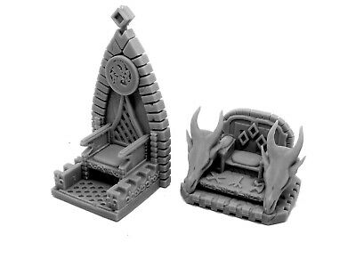 Dragon Throne Resin Miniature Dungeons And Dragons Tabletop Terrain • 4.15£