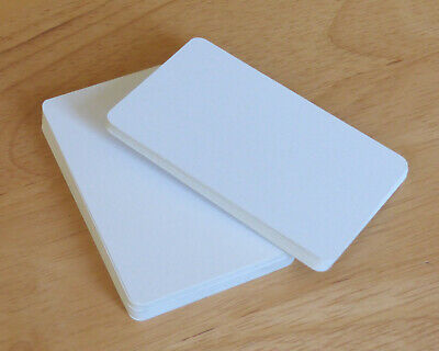 50 Blank Playing Cards / Flash Cards - Blank Both Sides • 2.45£