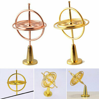 Metal Gyroscope Gyro Educational Traditional Kids Toys Gift Pressure Relieve • 7.92£