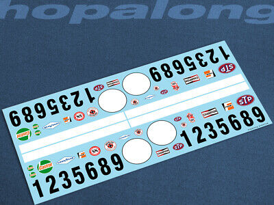 Scalextric/Slot Car 1/32 Waterslide Decals. Ws041c_w • 3.55£
