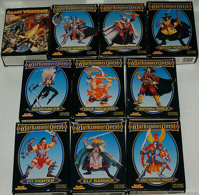 Warhammer Quest - Character Packs Expansions For Board Game MULTILISTING [1995] • 99.95£