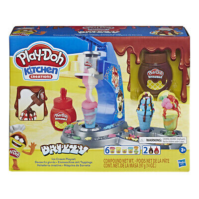Play-Doh Kitchen Creations Drizzy Ice Cream Playset • 13.99£