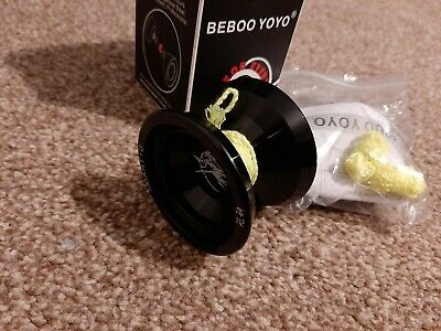 Professional Beboo Aluminium Yoyo Black God Of Death • 13.90£