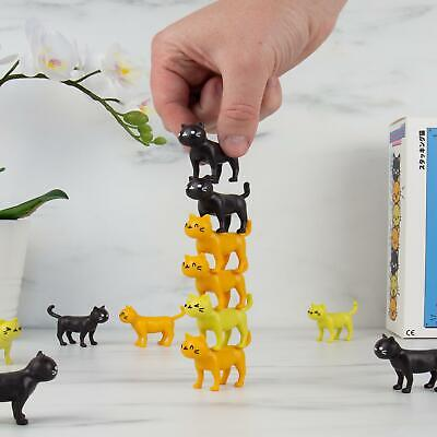 Catastrophe Game Stack Kittens Balance Home Travel Game Fun Gift • 8.50£