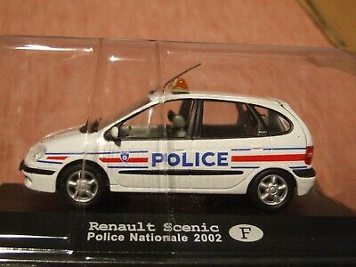 2002 RENAULT SCENIC French Police Car  1:43 Scale • 8£