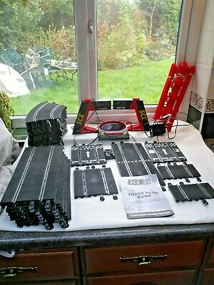 SCX Tecnitoys Scalextric  Type Classic Track Joblot And Accessories. • 75£