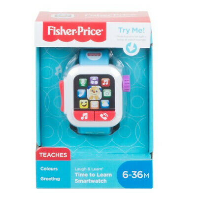 Fisher-Price Laugh & Learn Smart Watch • 8.99£