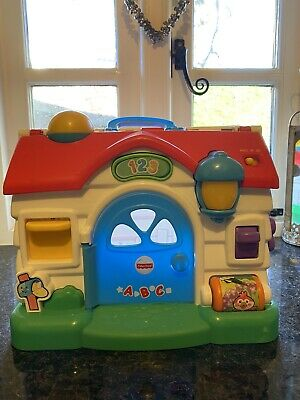 Fisher Price ABC 123 House Toddler Toy Girl Boy • 6£