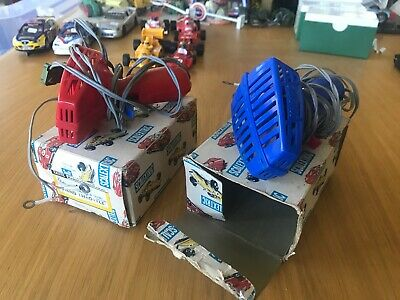 A Pair Of Scalextric A265 Hand Throttle With Original Boxes • 7£