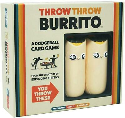 Throw Throw Burrito A Dodge Ball Card Game Original Edition Party Game New Hot!! • 19.99£
