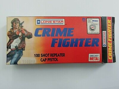 Vintage Lone Star Crime Fighter Toy • 45£