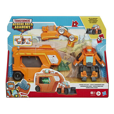 Playskool Heroes Transformers Rescue Bots Academy Command Center Figures • 18.99£