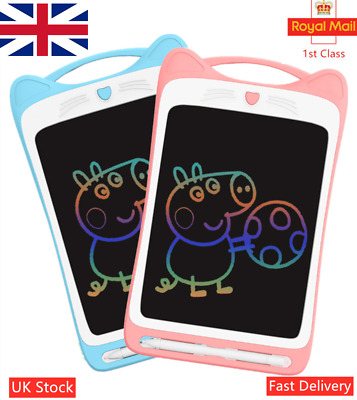 12'' Writing Board Drawing Painting Tablet EWriter Digital Notepad For Kids Toys • 9.59£
